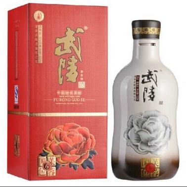 武陵酒芙蓉国色6年500ml兼香型白酒