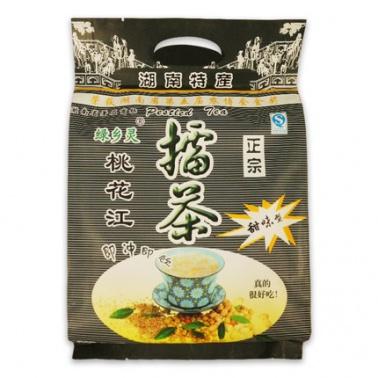 绿乡灵甜味擂茶360g 纯天然五谷湖南桃花江擂茶