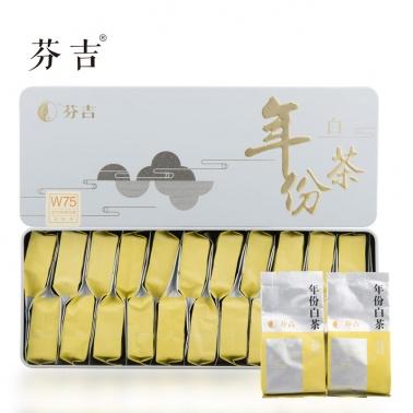 芬吉茶 福鼎白茶 级福鼎白茶福建白茶110g 白牡丹茶 礼品礼盒茶叶 包邮
