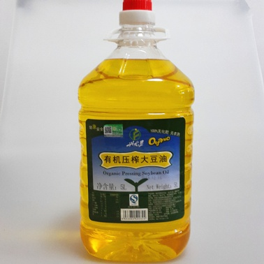 生态小镇有机豆油5L