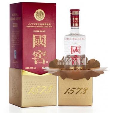 国窖1573 500ml泸州老窖 浓香型白酒
