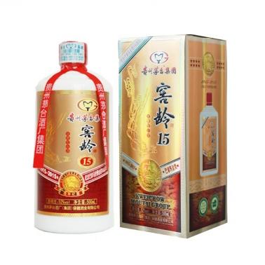 茅台窖龄15年百年纪念(500ml*6瓶)浓香型白酒高度收藏老酒特价送礼